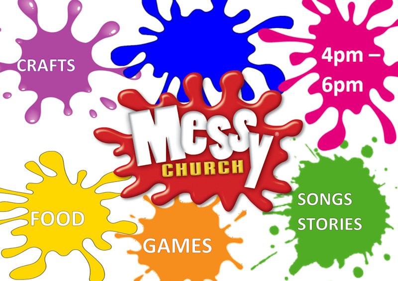 Messy Church Poster 2
